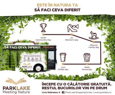 ParkLake Shopping Center lansează un serviciu de transport gratuit