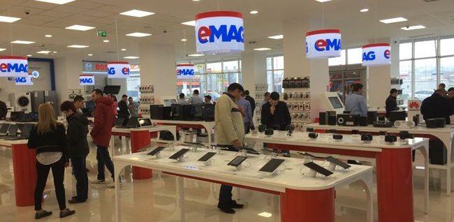 eMAG se extinde în offline și deschide la Sibiu cel mai mare showroom din provincie
