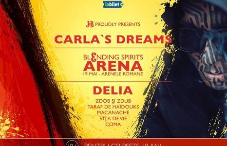 Carla's Dreams cântă la J&B Blending Spirits Arena