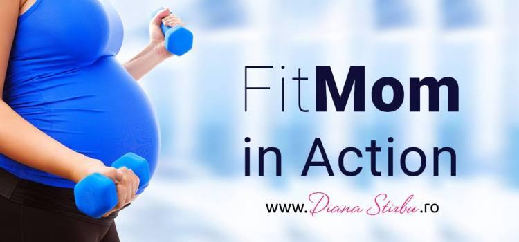 Diana Știrbu predă antrenamente sportive individuale femeilor însărcinate