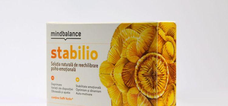 Nou in gama Mindbalance: Stabilio