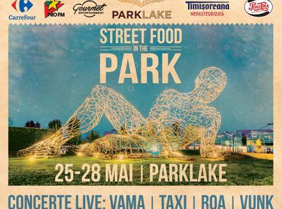 ParkLake organizează Street Food in the Park – ParkLake Garden Edition