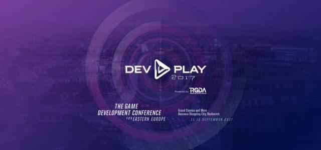 Nume importante din industria gamingului mondial vin la București pentru DEV.PLAY 2017 by RGDA