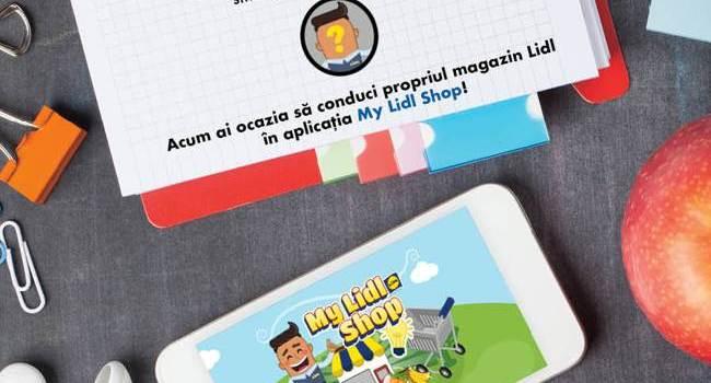 Lidl lansează My Lidl Shop, o aplicație mobilă de tip joc