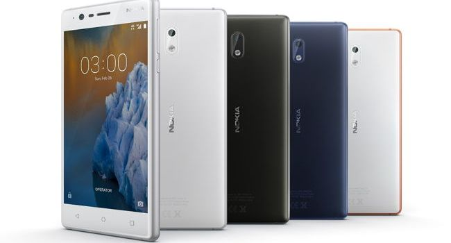 Nokia 6, Nokia 5 şi Nokia 3, prețuri bune în România