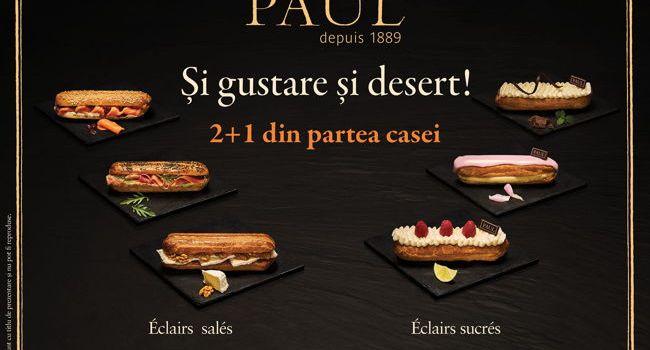 Brutăriile Paul reinventează gama Éclair Collection!Éclair Menthe Chocolat, preferatul meu!