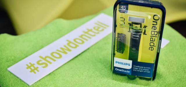 Philips OneBlade a lansat noul stil #ShowDontTell