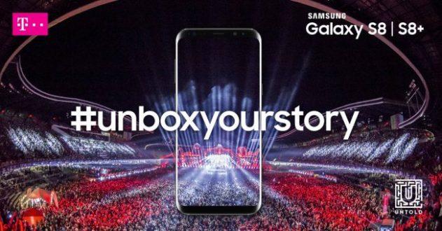 Telekom, parteneriat cu Samsung şi activări încadrul UNTOLD 2017