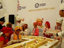 Longest Fruity Cake in the World