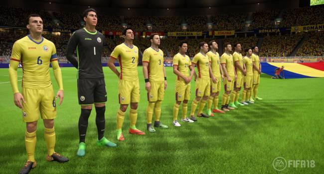 Naționala României, inclusă oficial în EA Sports FIFA 18