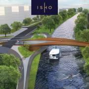 Pod cu 4 benzi pe sens și pasarelă pietonală în zona ISHO din Timișoara. Cum arată proiectul?