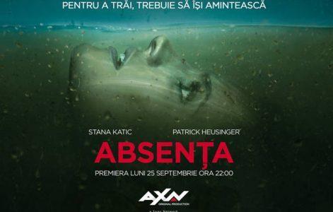AXN lansează un nou serial original Sony Pictures Television: Absența!