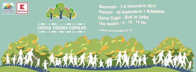 Toamna aceasta alergăm pentru pădure la Crosul Pădurii Copiilor