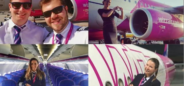Wizz Air anunţă cea mai mare campanie de recrutare de la lansarea companiei:#IamWIZZcrew