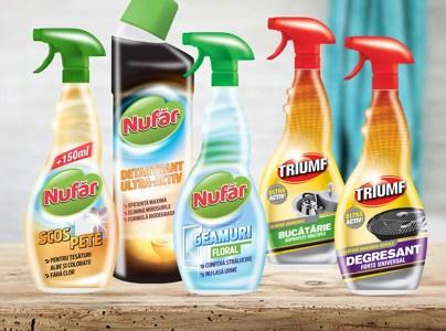 Farmec relansează cele două branduri consacrate pentru curăţenia locuinţei – Nufăr şi Triumf