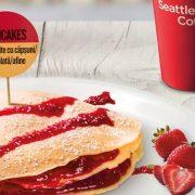 Nou la KFC: Mic Dejun cu wrapuri și sandwich-uri cu pui, ouă sau bacon, dar șiclătite cu topping de căpșuni