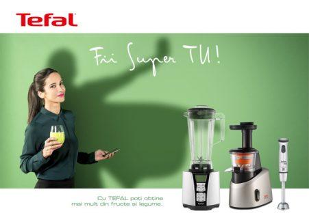 """Acceptă provocarea, """"FII SUPER TU"""" și Tefal te premiază!"""