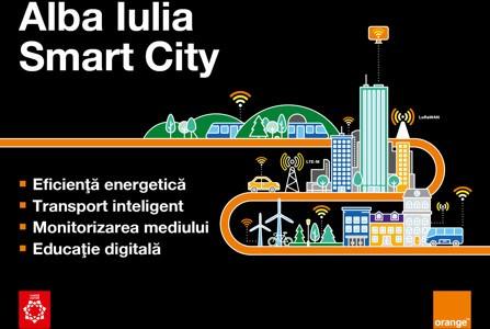 Orange finalizează prima etapă din proiectul-pilot smart city de la Alba Iulia