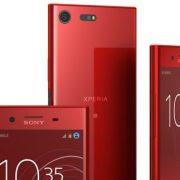 Aveți și pe roșu? Răspunsul Xperia XZ Premium este … Da – 'Rosso'
