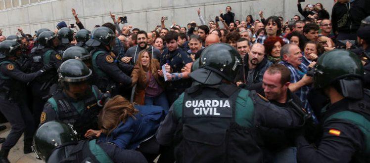Stirile Kanal D prezinta, in EXCLUSIVITATE, un amplu material despre situatia tensionata din Spania