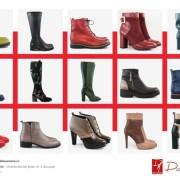 Diane Marie ne inspiră în sezonul rece cu încălțăminte coloratădin piele naturală