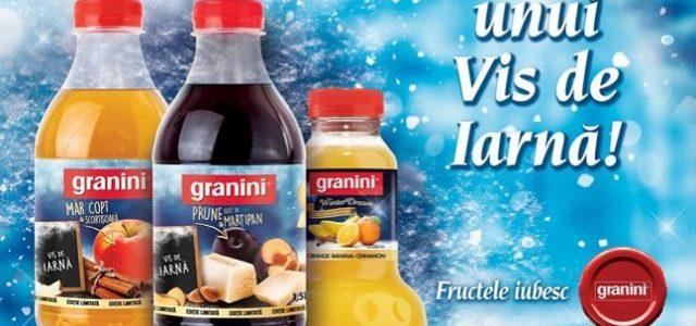 Prune, Marțipan, Măr copt, Scorțișoară, Portocale și Banane, noile ingrediente Granini!