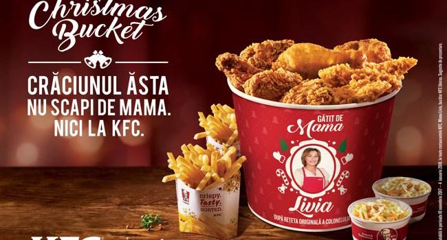 Christmas Bucket, în ediție limitată la KFC