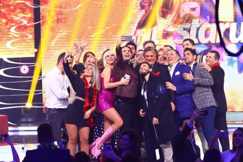 Măști de basm și cele mai iubite vedete, la Revelionul Antena 1