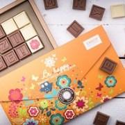 New Trends: Chocotelegramele,vedete in colectia de Craciun de la Chocolissimo