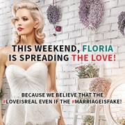 Elvis Presley si Marylin Monroe oficializeaza casatorii de o zila Floria de Valentine's Day