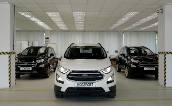 Ford a donat trei vehicule EcoSport ca material didactic pentru elevii și studenții craioveni