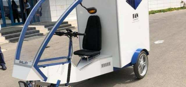 FAN Courier introduce în flota proprie primul cargobike electric