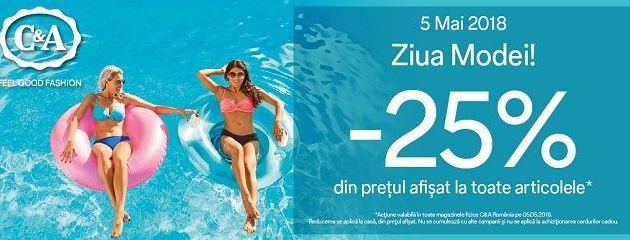 "C&A Romania sarbatoreste o noua editie ""Ziua Modei la C&A"""