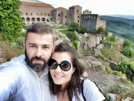 Mystras Castle Town