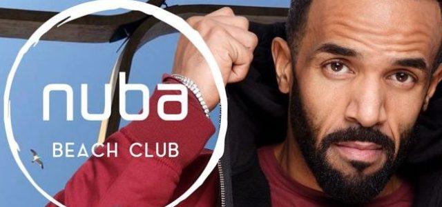 Craig David vine la NUBA Beach Club pe 23 Iunie
