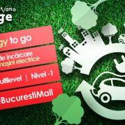 Stație de încărcare gratuită pentru mașini electrice la București Mall