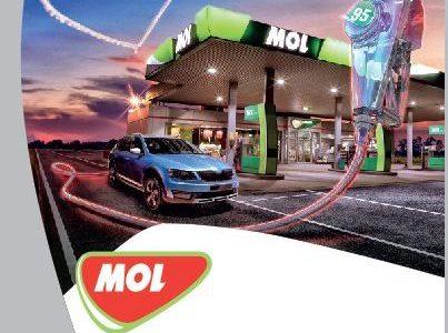 MOL a introdus în România benzina MOL Racing Fuel 102+