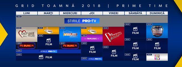 Ce program va avea PRO TV în această toamnă?