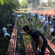 Angajații companiilor membre ABSL au ajutat la amenajarea spațiului de joacă de la SOS Satele Copiilor