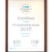 PROMIDEA câștigă 2 distincții importante oferite de Promotional Product Service Institute
