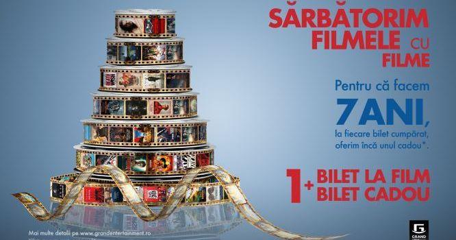 Grand Cinema & More aniversează 7 ani de filme și evenimenteculturale memorabile