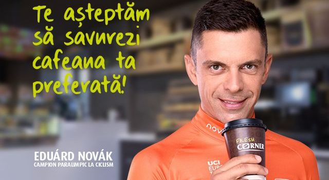 MOL lansează prima campanie de imagine pentru conceptul Fresh Corner. Eduárd Novák, ambasador de brand