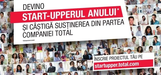 Total îi invită pe tinerii antreprenori în competiția Startupperul Anului