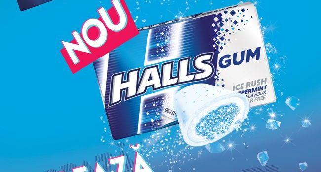 Mondelēz lansează guma de mestecat HALLS pe piața din România