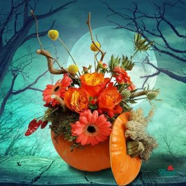 flori-aranjament-cu-orhidee-in-dovleac-34789