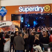 Fashion&Friends Company a inaugurat cel mai mare magazin Superdry din România