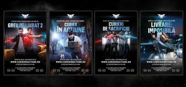 FAN Courier și Marks prezintă Curier în Acțiune, the movie!