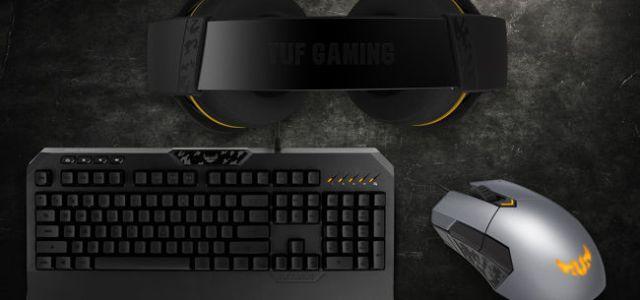 ASUS lansează în România noile periferice TUF Gaming