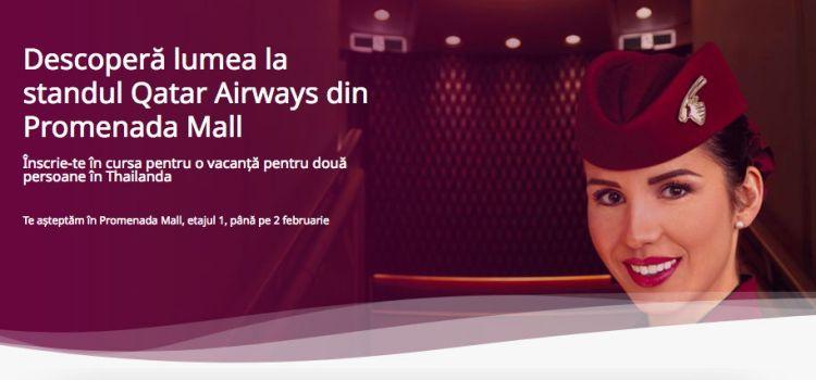QATAR AIRWAYS inaugurează primul pop up store al unei companii aeriene în România,