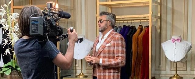 Cum a debutat Catalin Botezatu in moda si care este legatura momentului cu sotii Ceausescu?